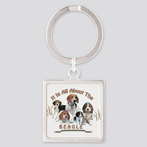 All About The Beagle Keychains