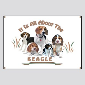 All About The Beagle Banner