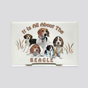 All About The Beagle Magnets
