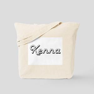 Kenna Classic Retro Name Design Tote Bag