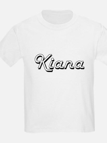 Kiana Classic Retro Name Design T-Shirt