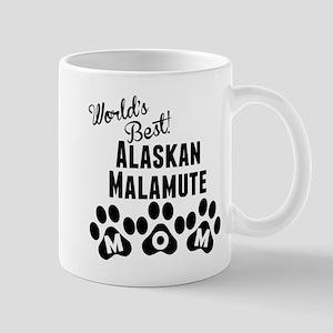 Worlds Best Alaskan Malamute Mom Mugs