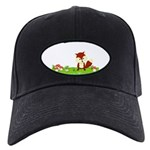 Personalizable Fox in the Woods Baseball Hat