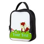 Personalizable Fox in the Woods Neoprene Lunch Bag