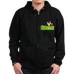 Personalizable Fox in the Woods Zip Hoodie