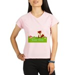 Personalizable Fox in the Woods Performance Dry T-