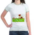 Personalizable Fox in the Woods T-Shirt