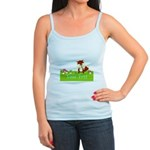 Personalizable Fox in the Woods Tank Top