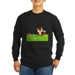 Personalizable Fox in the Woods Long Sleeve T-Shir