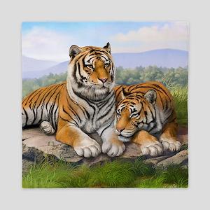 Tigers Queen Duvet