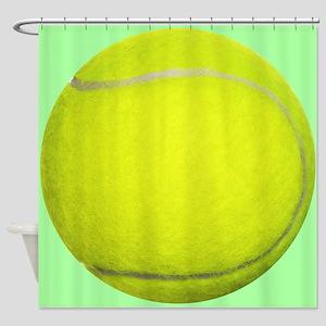 Tennis Ball Sport Shower Curtain