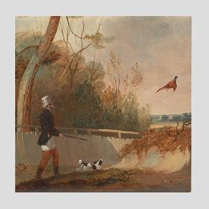 Pheasant Shooting Tile Coaster