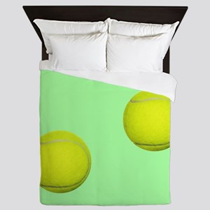 Tennis Ball Sport Queen Duvet