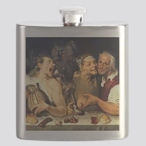 Merry Company by Bartoomeo Passerotti Flask