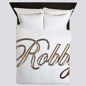 Gold Robby Queen Duvet