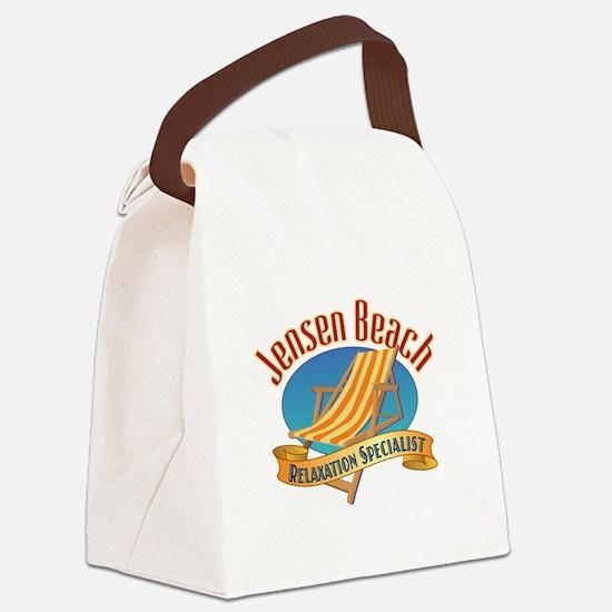 Jensen Beach - Canvas Lunch Bag