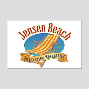 Jensen Beach - Mini Poster Print