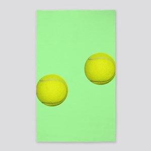 Tennis Ball Sport Area Rug