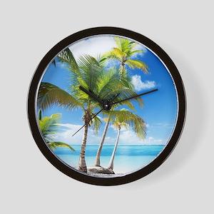 Paradise Corner Wall Clock