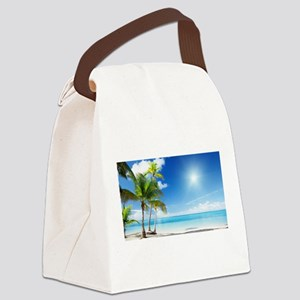 Paradise Corner Canvas Lunch Bag