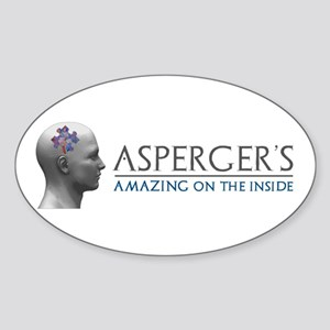 Asperger's Amazing Head Sticker
