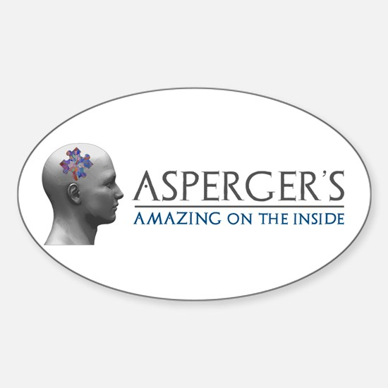 Asperger's Amazing Head Decal