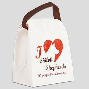I <3 Shiloh Shepherds Canvas Lunch Bag