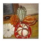 Squash On Window Tile Coaster