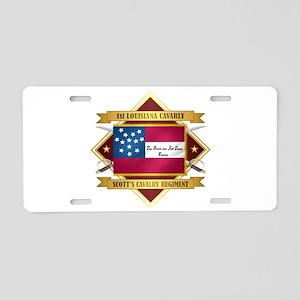 1st Louisiana Cavalry Aluminum License Plate
