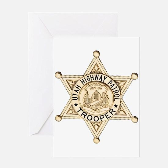 Utah Highway Patrol Greeting Card