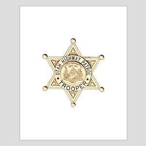 Utah Highway Patrol Small Poster