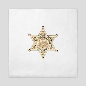 Utah Highway Patrol Queen Duvet