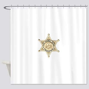 Utah Highway Patrol Shower Curtain