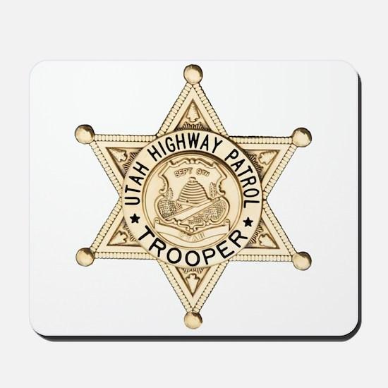 Utah Highway Patrol Mousepad