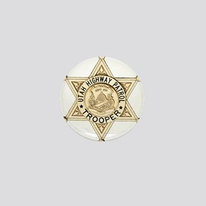 Utah Highway Patrol Mini Button