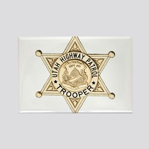 Utah Highway Patrol Rectangle Magnet