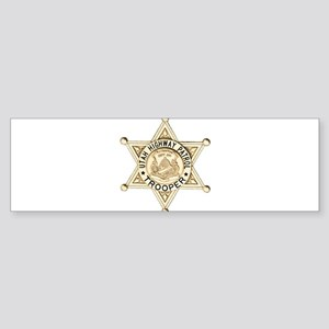 Utah Highway Patrol Sticker (Bumper)
