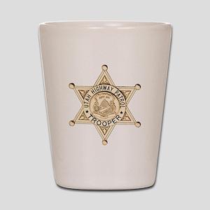 Utah Highway Patrol Shot Glass