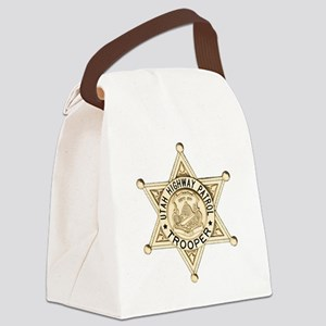 Utah Highway Patrol Canvas Lunch Bag