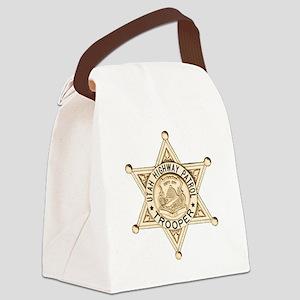 Utah Highway Patrol Canvas Lunch Bag
