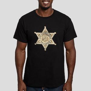 Utah Highway Patrol Men's Fitted T-Shirt (dark)