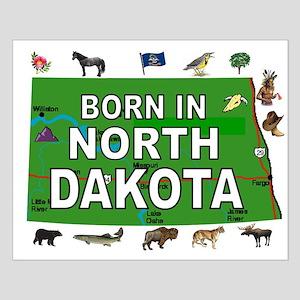 NORTH DAKOTA BORN Posters