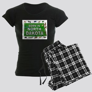 NORTH DAKOTA BORN Pajamas