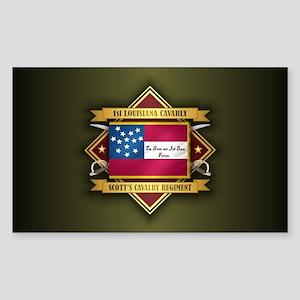 1st Louisiana Cavalry Sticker