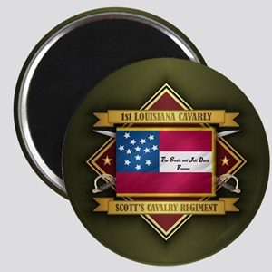 1st Louisiana Cavalry Magnets