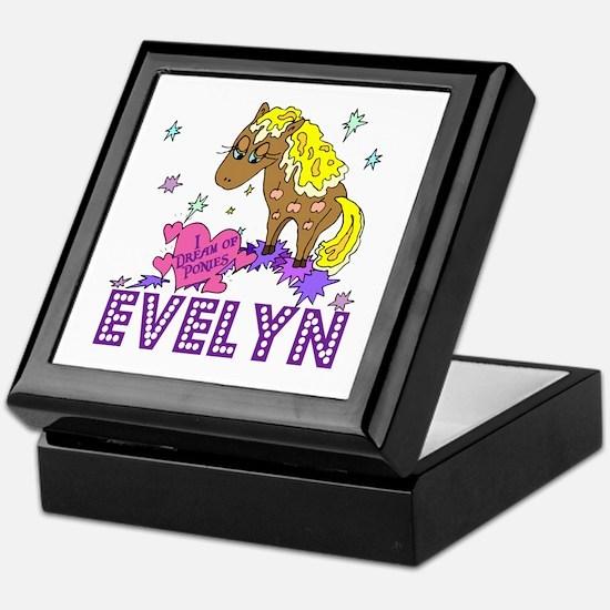 I Dream Of Ponies Evelyn Keepsake Box