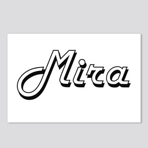Mira Classic Retro Name D Postcards (Package of 8)