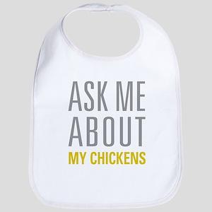 My Chickens Bib