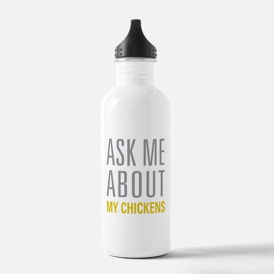 My Chickens Water Bottle