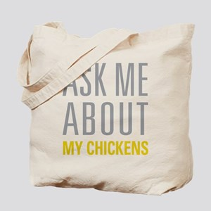 My Chickens Tote Bag